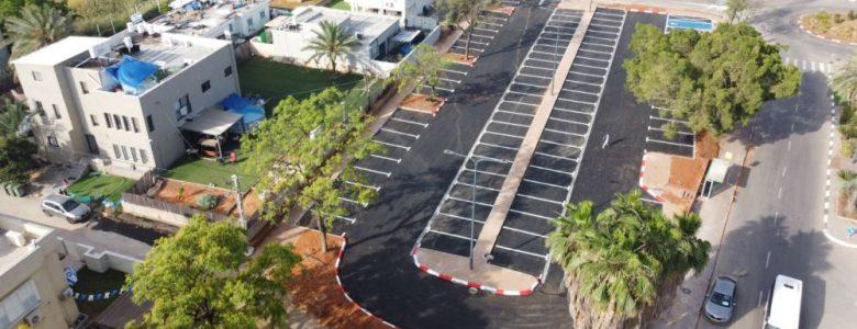 הקמת חניון בשדרות שלמה המלך