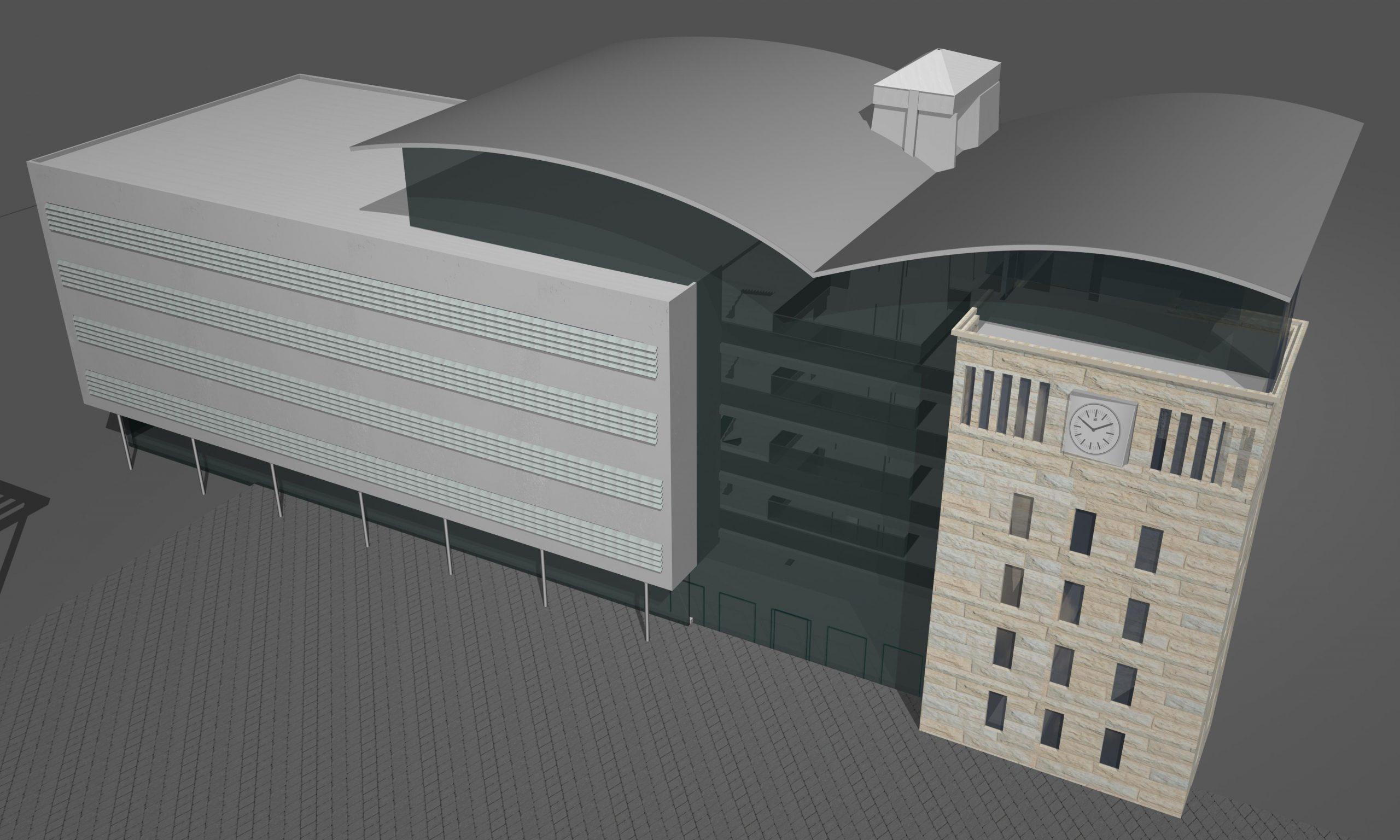 הקמת בניין העירייה